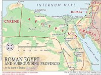 Egypt Maps Ancient World Mapping Center - Map of egypt elevation
