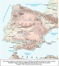 Iberian Peninsula Ancient World Mapping Center