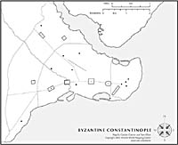 Byzantine Constantinople | Ancient World Mapping Center