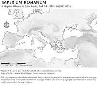 Roman Empire Ancient World Mapping Center - Ancient rome map blank