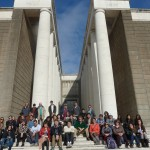 ICCS group at the Museo della Civilt Romana in EUR