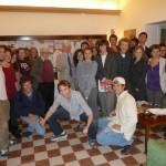 Talbert with ICCS students and Prof. Allan Ceen