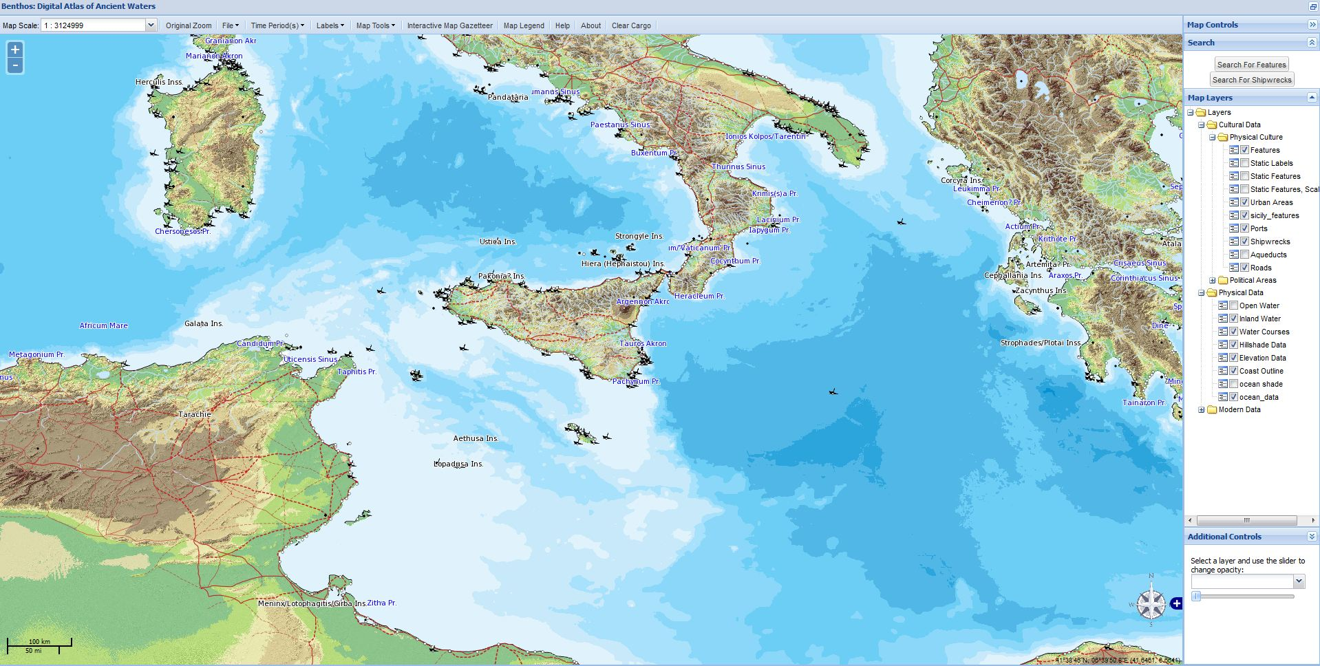 Research | Ancient World Mapping Center on